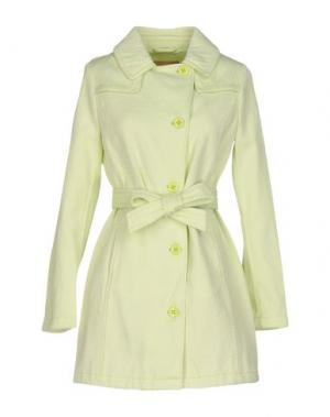 Легкое пальто [C] STUDIO. Цвет: кислотно-зеленый