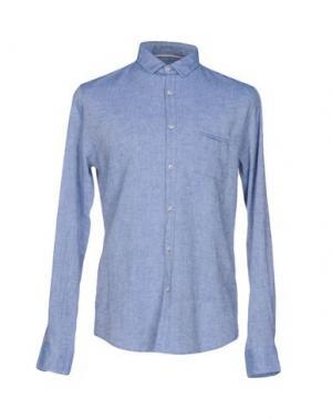 Pубашка INDIVIDUAL. Цвет: небесно-голубой