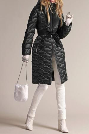 Пуховое пальто Naumi. Цвет: темно-зеленый