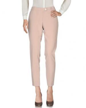 Повседневные брюки SAISON. Цвет: бежевый