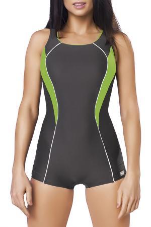 Swimwear GWINNER. Цвет: dark gray and green