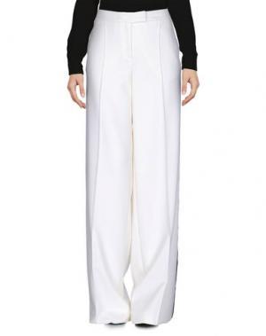 Повседневные брюки RACIL. Цвет: белый