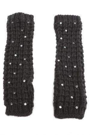 Перчатки Juicy Couture. Цвет: черный