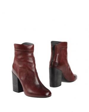 Полусапоги и высокие ботинки FIORIFRANCESI. Цвет: баклажанный