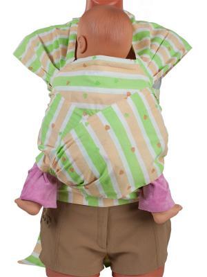 Май-слинг Детство Чудо-Чадо. Цвет: зеленый