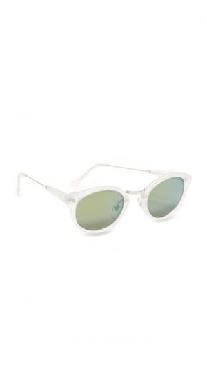Матовые солнцезащитные очки Panama с кристаллами Super Sunglasses