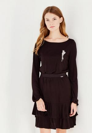 Платье Liu Jo. Цвет: черный