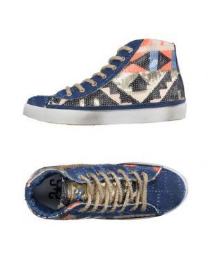 Высокие кеды и кроссовки 2STAR. Цвет: синий