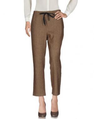 Повседневные брюки ZHELDA. Цвет: хаки
