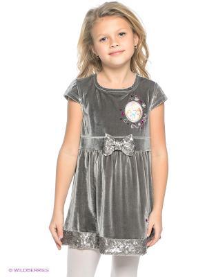 Платье Sun City. Цвет: серый
