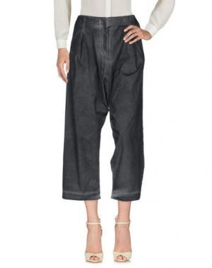 Повседневные брюки MINIMAL TO. Цвет: стальной серый