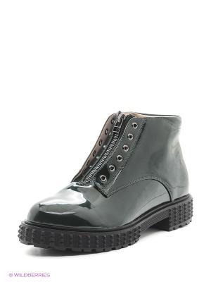 Ботинки Spur. Цвет: зеленый