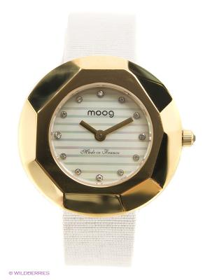 Часы MOOG. Цвет: золотистый