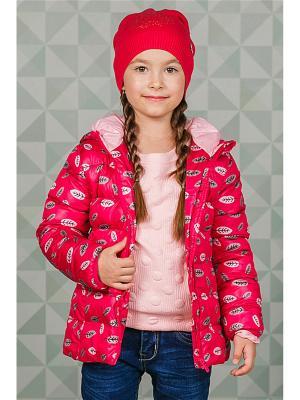 Куртка Sweet Berry. Цвет: розовый