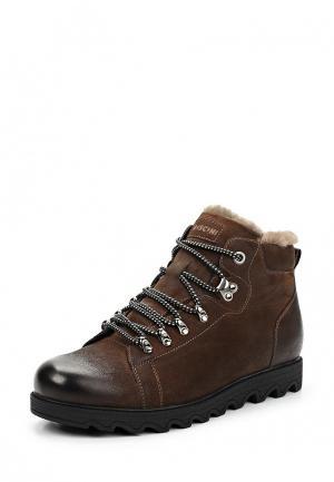 Ботинки Rosconi. Цвет: коричневый