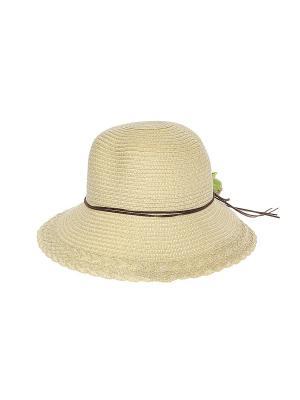 Шляпа Migura. Цвет: бежевый, коричневый