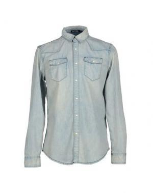 Джинсовая рубашка BLK DNM. Цвет: синий