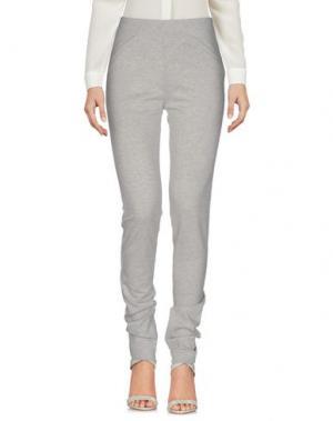 Повседневные брюки TIMEOUT. Цвет: серый