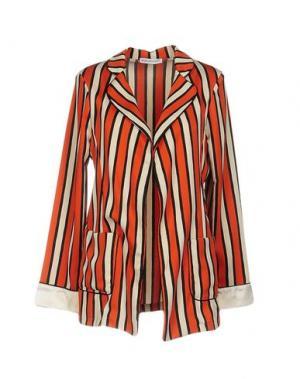 Пиджак ANGELA MELE MILANO. Цвет: оранжевый