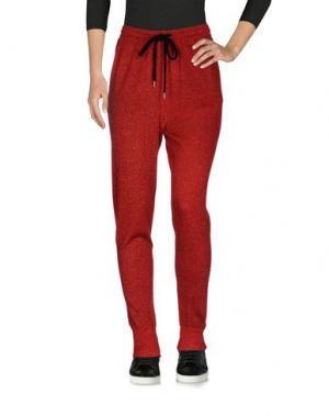 Повседневные брюки MARKUS LUPFER. Цвет: красный