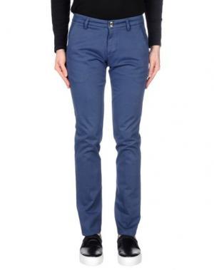Повседневные брюки FRADI. Цвет: грифельно-синий