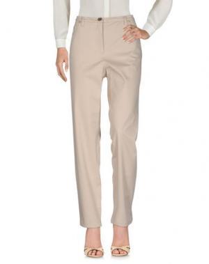 Повседневные брюки SEVERI DARLING. Цвет: бежевый