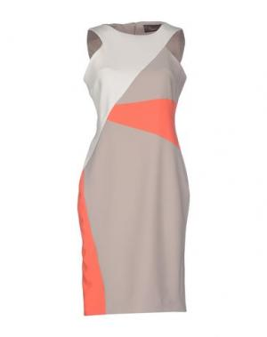 Короткое платье BOURNE. Цвет: серый