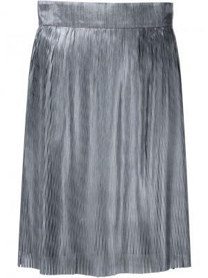 Плетеная юбка Iris Van Herpen. Цвет: чёрный