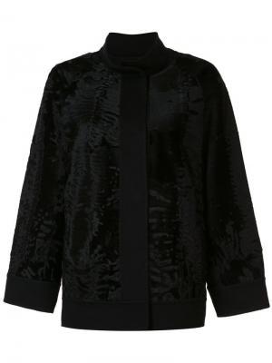 Куртка Caban J. Mendel. Цвет: чёрный
