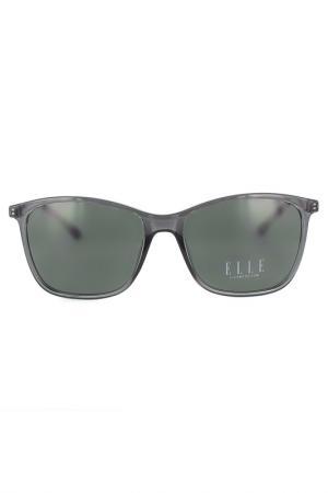 Очки солнцезащитные ELLE. Цвет: серый