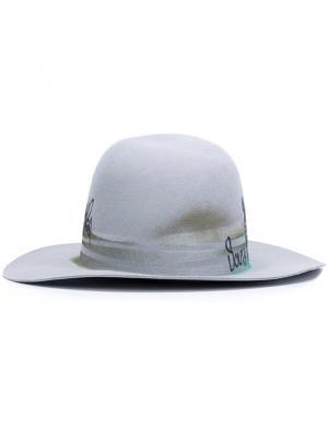 Шляпа South East Études. Цвет: серый