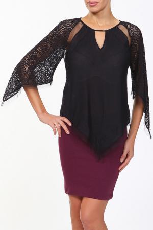 Блуза BCBG. Цвет: черный