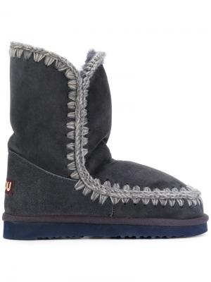 Ботинки Eskimo 24 Mou. Цвет: синий