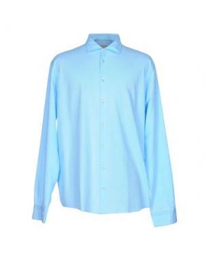 Pубашка GRAN SASSO. Цвет: лазурный