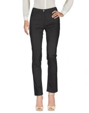 Повседневные брюки BARONI. Цвет: стальной серый