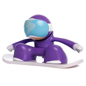 Игрушка  Snowboarder Purple Chuckbuddies. Цвет: фиолетовый