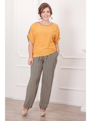 Комплект одежды CLEO. Цвет: горчичный