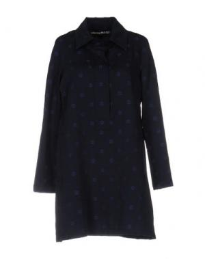 Короткое платье COLLECTION PRIVĒE?. Цвет: темно-синий