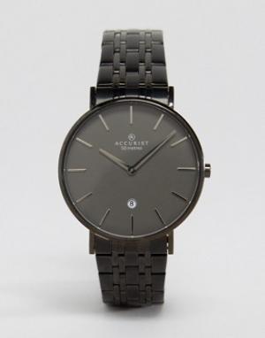 Accurist Черные наручные часы. Цвет: черный