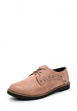 Ботинки Malien. Цвет: розовый