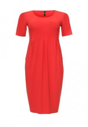 Платье Evans. Цвет: красный