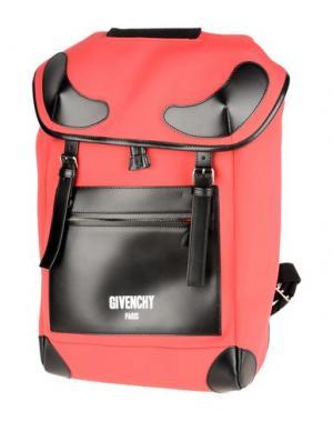 Рюкзаки и сумки на пояс GIVENCHY. Цвет: красный