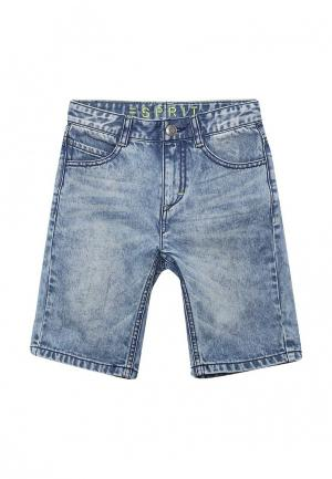 Шорты джинсовые Esprit. Цвет: голубой