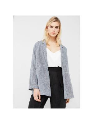 Пиджак - GRILL Mango. Цвет: серый