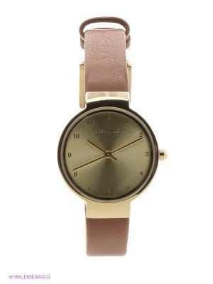 Часы KAREN MILLEN. Цвет: светло-коричневый