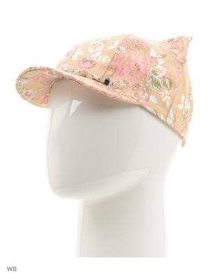 Кепка SHERONA. Цвет: бежевый, розовый