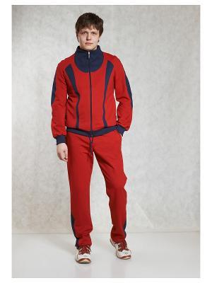 Спортивные костюмы CROSS sport. Цвет: красный