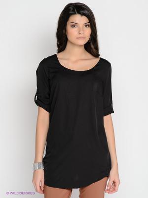 Платье-туника Vero moda. Цвет: черный