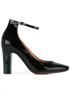 Туфли с ремешком на пряжке  LAutre Chose L'Autre. Цвет: чёрный