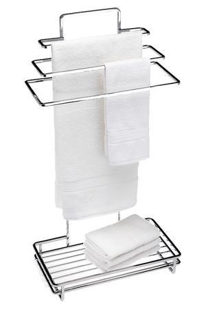 Держатель для полотенец напольный Creative. Цвет: серебряный